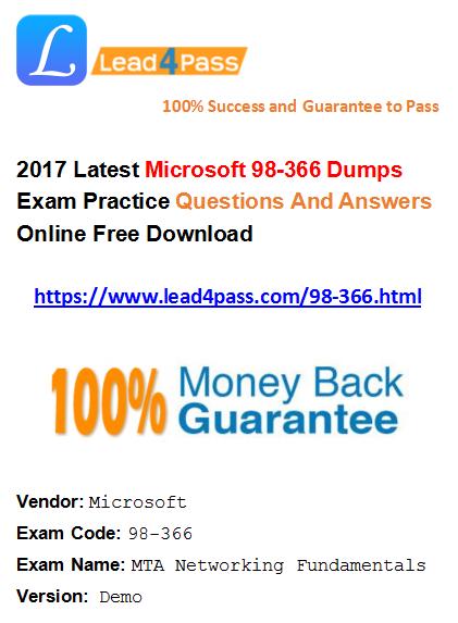 98-366 dumps