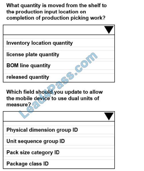 Lead4pass mb-320 exam questions q1