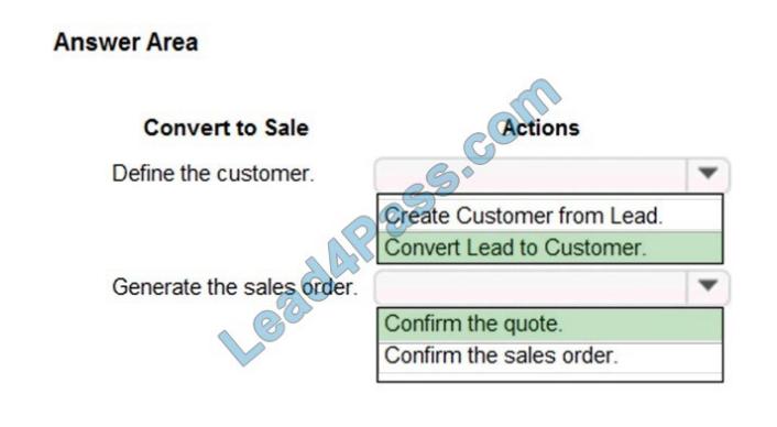 lead4pass mb-330 exam questions q2-1