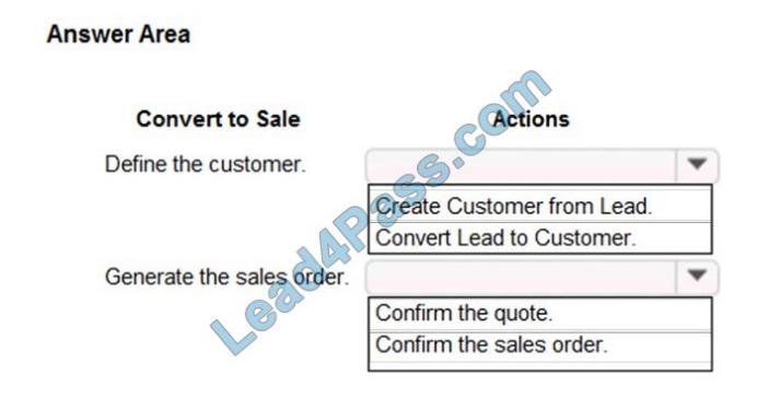 lead4pass mb-330 exam questions q2