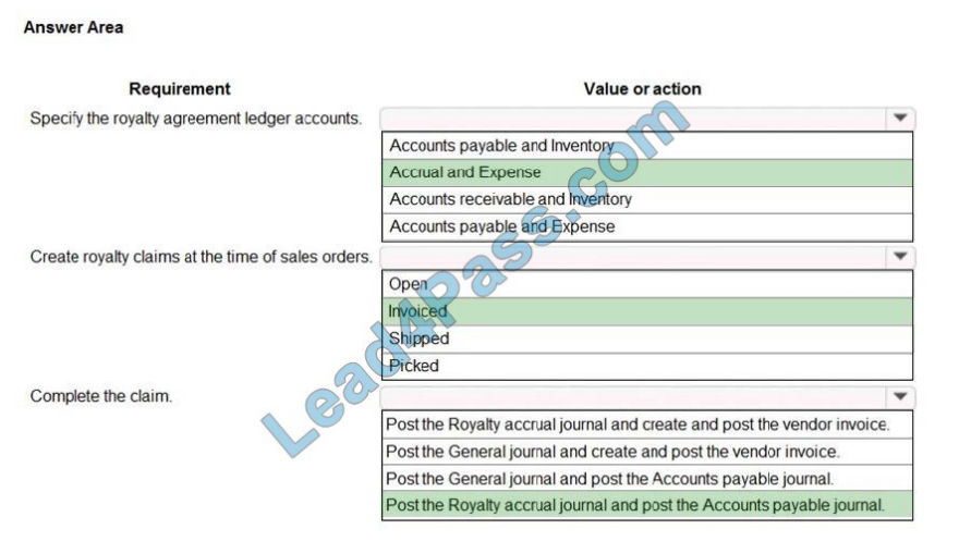 lead4pass mb-330 exam questions q5-1