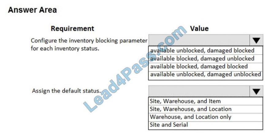 lead4pass mb-330 exam questions q6